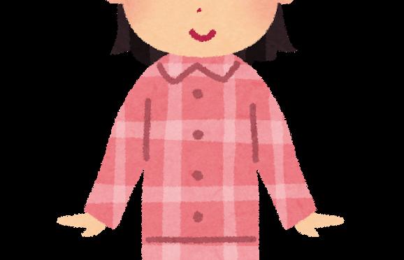 昼までパジャマ…(;´∀`)