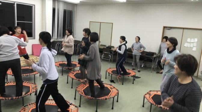 解放感抜群です❗癒しと解放の横島JA女性部からだバー®&からだジャンプ®サークル✨