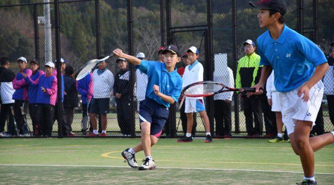 選抜テニス・プレ大会初日。✨