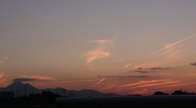 夕方の風景。✨
