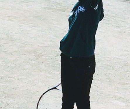 唯、ソフトテニス入部!👍️