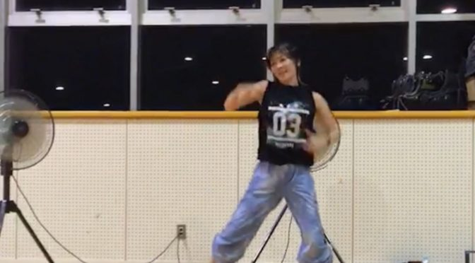 想い出の体育館で、また踊れて泣けた!