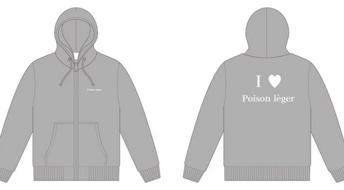 Poison léger 限定パーカー販売★