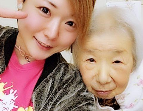 祖母と父のお見舞いだん(*^^*)