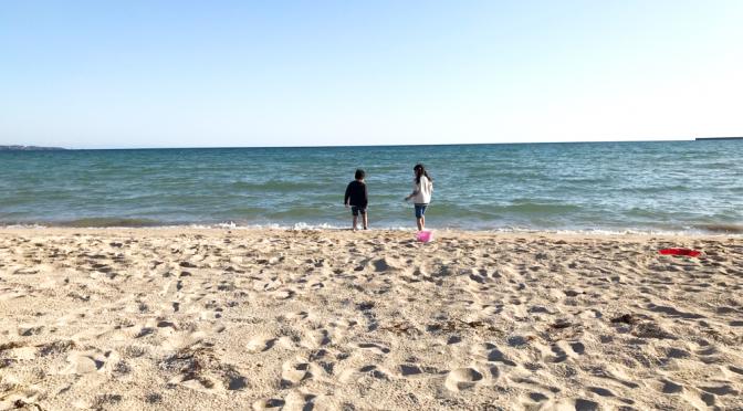 【キャンプ】海無し岐阜県民は海を見るだけでテンション上がる!
