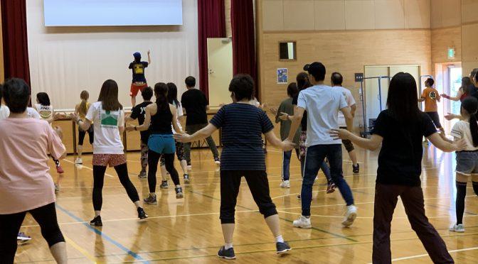 青森県民スポーツ&レクリエーション祭エアロビック大会